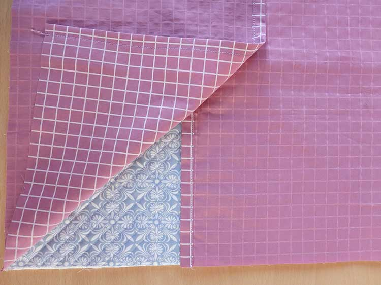 How to Make a Quilted Throw Pillow: Post 5: Sew the Pillow