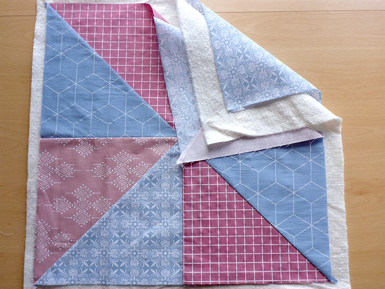 How to Make a Quilted Throw Pillow: Post 4: Quilting